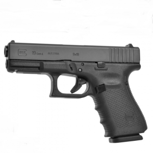 GLOCK G19 set Gen.4, NS Green, Compact, кал. 9 mm Luger