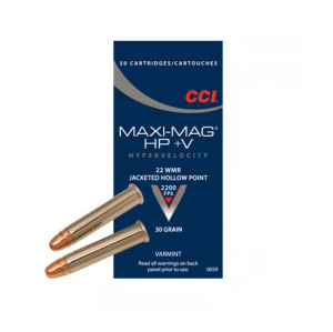 CCI Maxi Mag +V, .22 WMR - 30 GR