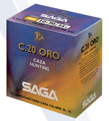 SAGA кал.20 3x3 Gold