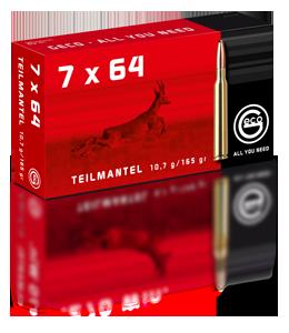 GECO TEILMANTEL cal.7 x 64 10.7g