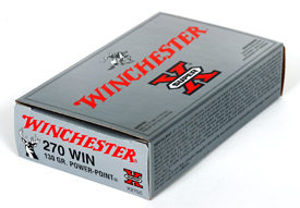 Winchester 270WIN SUPER-X 130GR POWER POINT 20