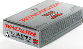 Winchester 30-06SPR SUPER-X 150GR POWER POINT 20