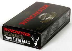 Winchester 7MMREM SUPREME 150GR BALLSILTIP 20