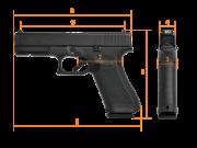 GLOCK G17, Gen.5, Standard, кал. 9 mm Luger