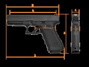 GLOCK G17 Gen.3, RTF2, Standard, кал. 9 mm Luger