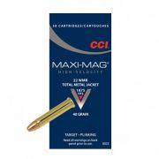 CCI Maxi Mag TMJ, .22 WMR - 40 GR