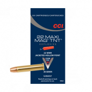 CCI Maxi Mag TNT HP, .22 WMR - 30 GR