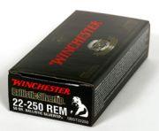 Winchester 22-250REM SUPREME 50GR BALLSILTIP 20