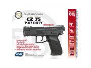 CZ 75 P-07 Duty 4.5mm Black Blowback
